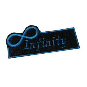 Motif Patch Personalised Name Infinity Symbol Border