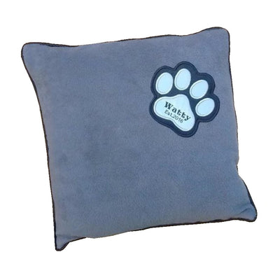 Luxury Personalised Fleece Cushion Pawprint