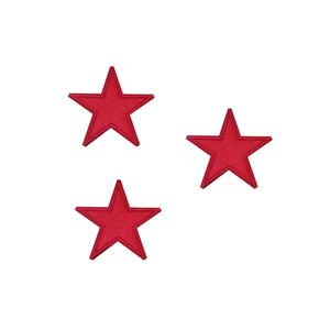 Motif Patch Satin Star *Choice of different sizes*