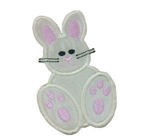 Motif Patch Cute Easter Bunny Rabbit