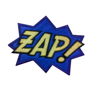 Motif Patch Comic Book Novelty ZAP!