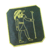 Motif Patch 2-Tone E31 Egyptian Crocodile God Sobek Lord of the Faiyum