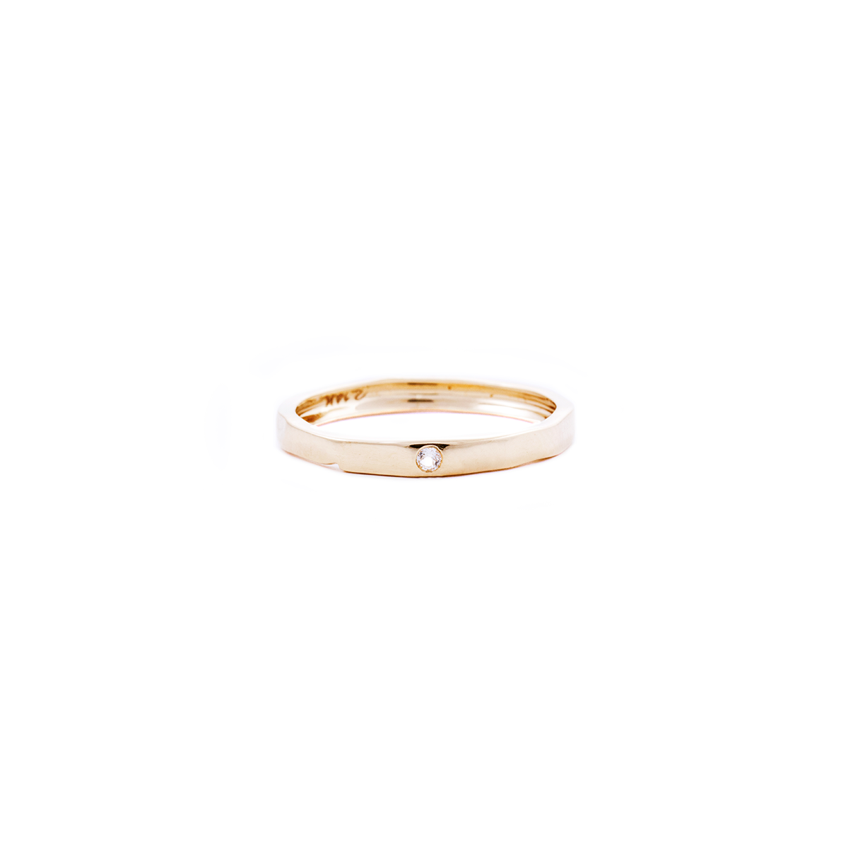 white topaz gold ring, stacking ring, rings, gold jewellery, gold jewelry, jewellery store, online jewelry store, jewellers