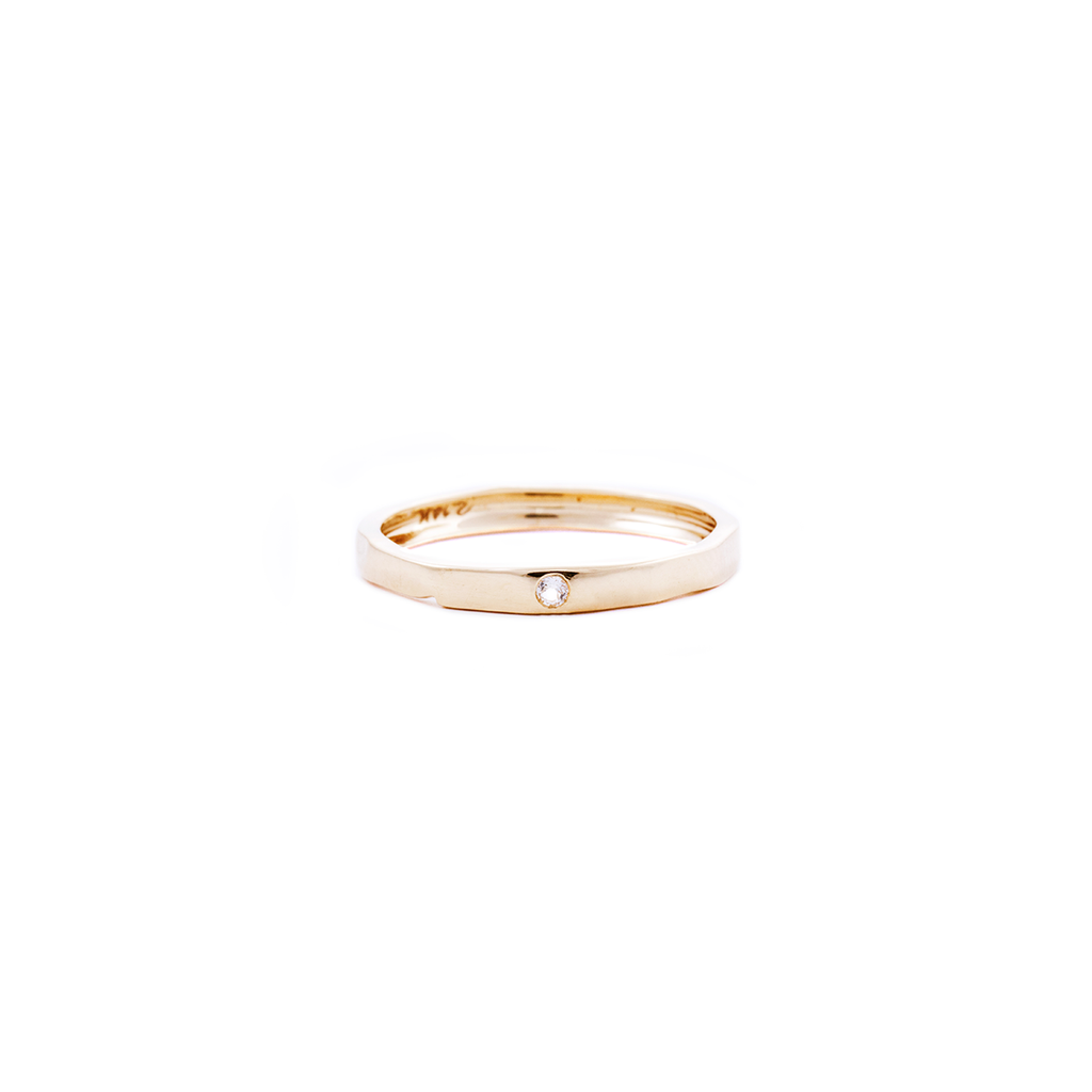 gold ring, stacking ring, delicate rings