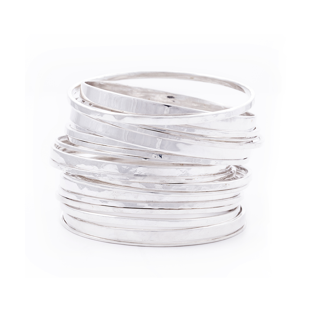 sterling silver bangle, silver jewellery, silver jewelry