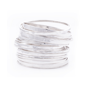 STERLING SILVER MARRAKECH BANGLES