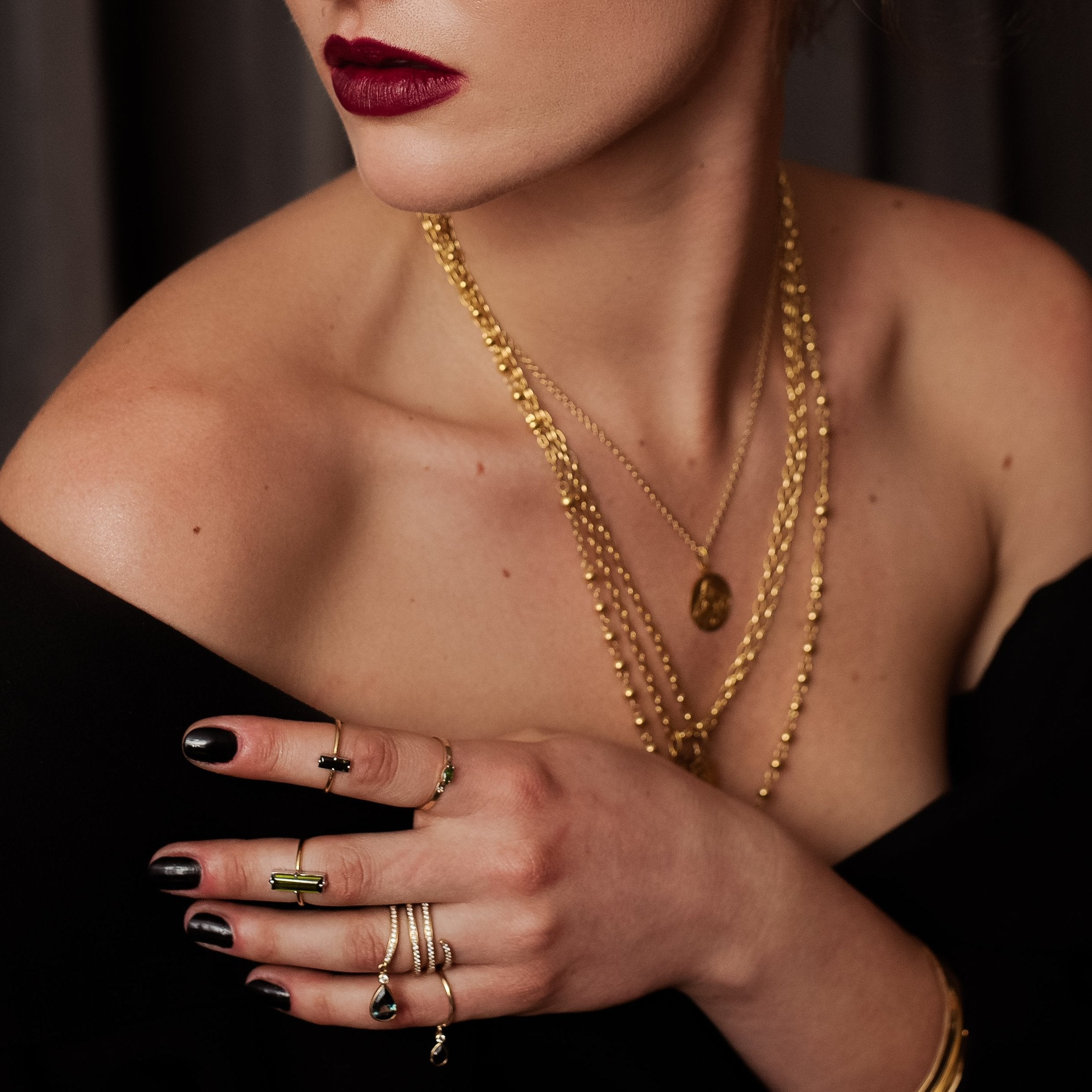 serafin jewellery, gold rings, gold necklaces