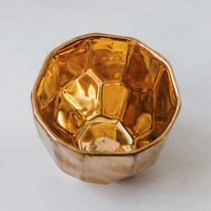 18CT GOLD JEWELLERY BOWL SMALL