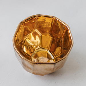 18CT GOLD JEWELLERY BOWL LARGE
