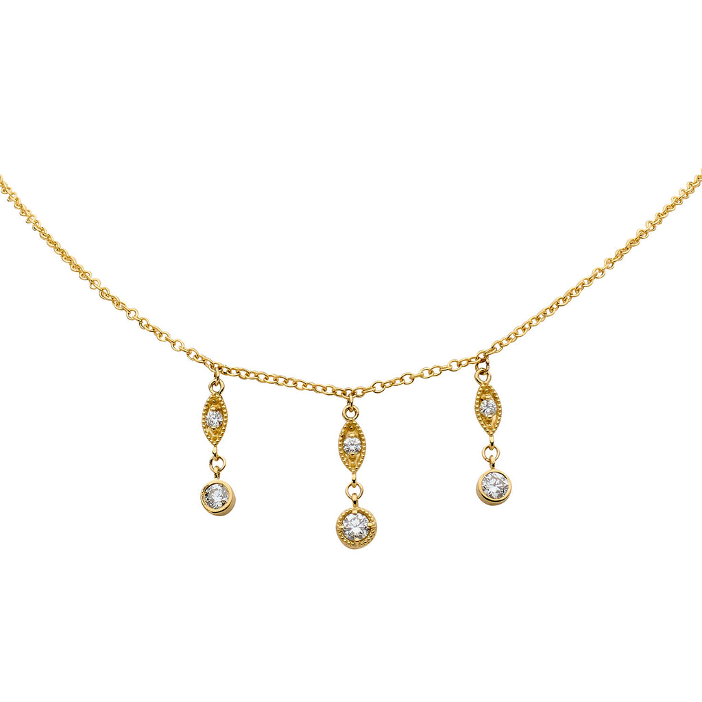 Shala 6 Diamond Necklace