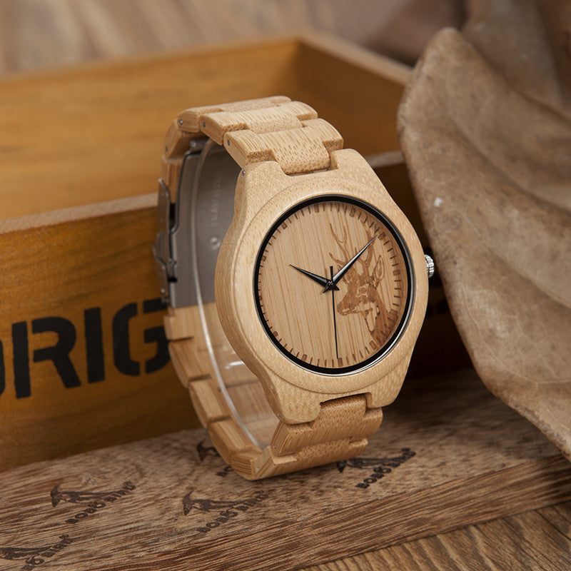 Wooden Watch 100% Bamboo Watch