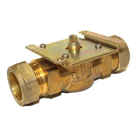Danfoss HPV28B 28mm 2 Port Valve Body Only by Danfoss from Heat Group Supplies