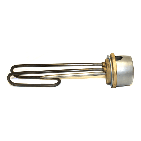 "Backersafe 11"" Titanium Immersion Heater With New Generation Single Thermostat by Backer from Heat Group Supplies"