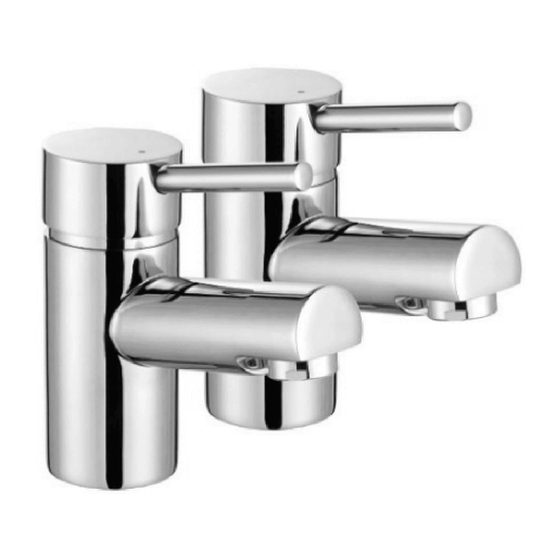Lavata Contemporary Lever Basin Taps Pr. Cp by Lavata from Heat Group Supplies