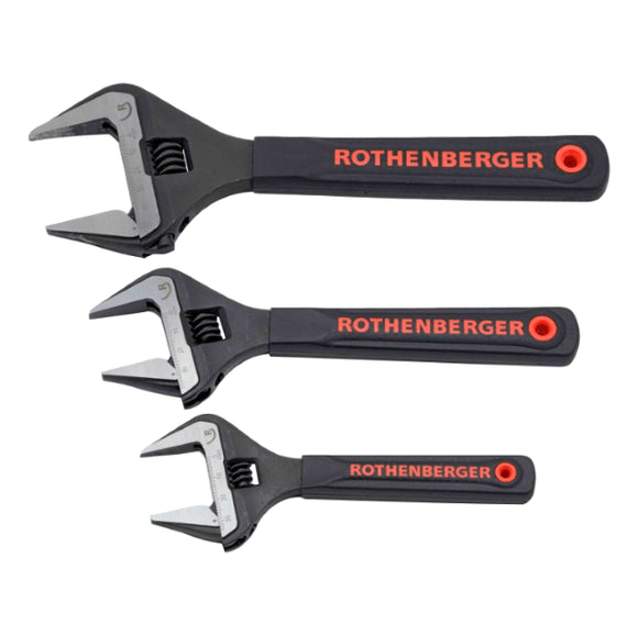 Rothenberger Wide Jaw Wrench Set - 6