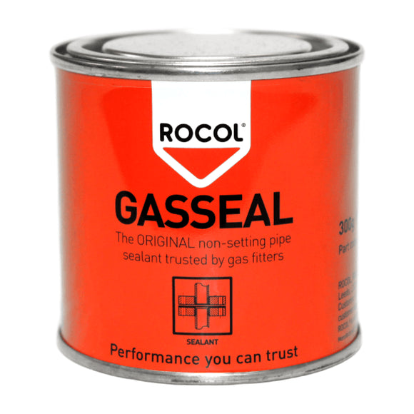 Rocol Gas Seal Non-Setting Sealant 300G by Rocol from Heat Group Supplies