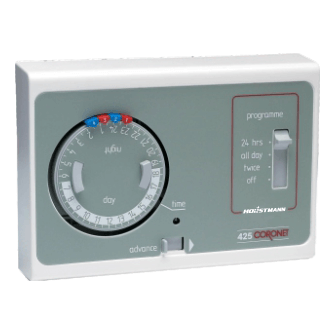 Horstmann 425 Coronet Timeswitch 2On/Off + Advance by Horstmann from Heat Group Supplies