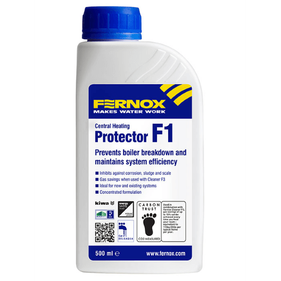 Fernox Protector F1 (500ml Liquid) by Fernox from Heat Group Supplies