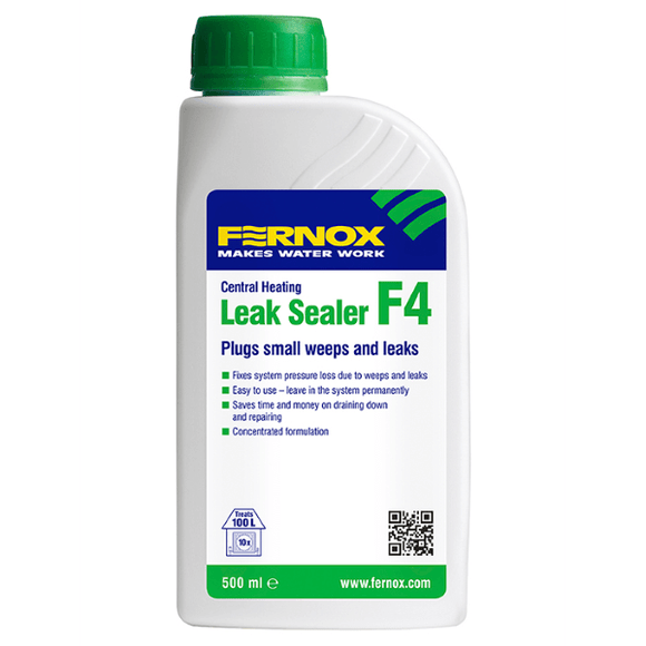 Fernox Leak Sealer F4 (500ml Liquid) by Fernox from Heat Group Supplies