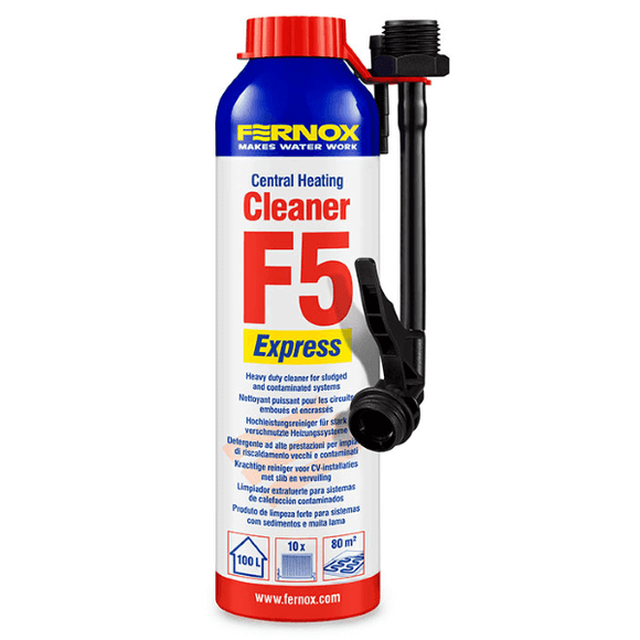Fernox Cleaner F5 Express (280ml Aerosol) by Fernox from Heat Group Supplies