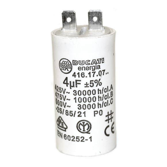 Ecoflam Capacitor 4ufx100W Minor 4 - 8 - 12 by Ecoflam from Heat Group Supplies