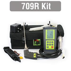 TPI Combustion Analyser Kit C/W Differential Temperature & Pressure by TPI from Heat Group Supplies