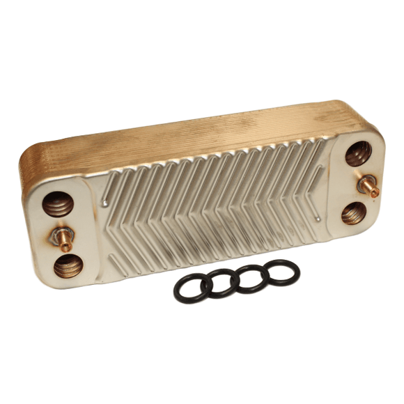 Bosch 7101628 DHW Heat Exchanger by Bosch from Heat Group Supplies