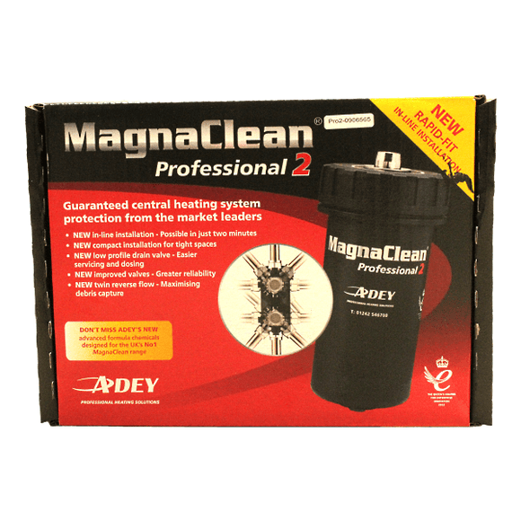 Adey 22mm Magnaclean Professional2 Filter Black by Adey from Heat Group Supplies