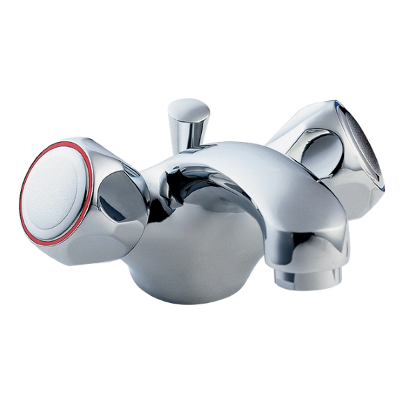Deva Profile Mono Basin Mixer With Pop Up by Methven from Heat Group Supplies