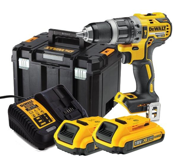 Dewalt 18V Xr Brushless Combi Drill Kit Tools