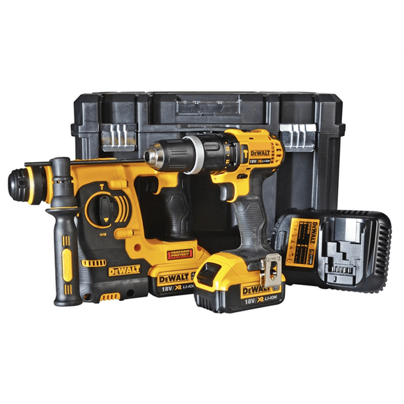 Dewalt XR Li-Ion 18V SDS Hammer Drill Kit by Dewalt from Heat Group Supplies