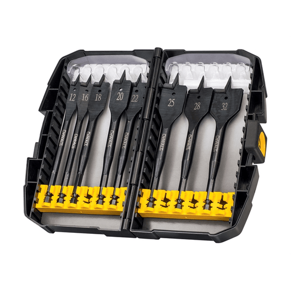 Dewalt Extreme Flatbit Tough Case Set by Dewalt from Heat Group Supplies