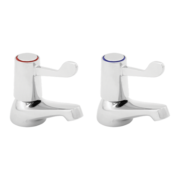 Deva Lever Action Basin Taps by Methven from Heat Group Supplies
