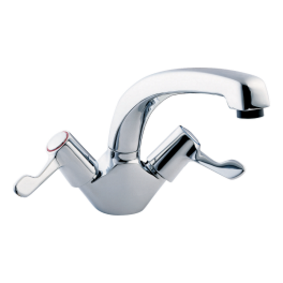 Deva Lever Action Mono Sink Mixer by Methven from Heat Group Supplies