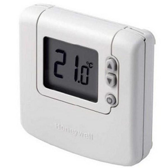Honeywell Dt90E Wired Digital Room Thermostat Controls