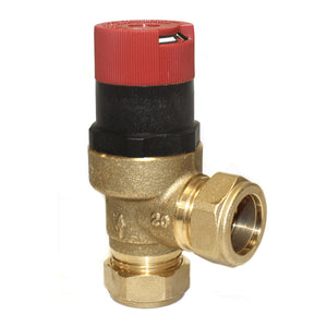 Honeywell DU145-3/4B 22mm Automatic Bypass by Honeywell from Heat Group Supplies