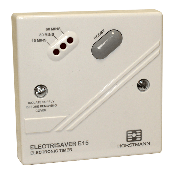 Horstmann Electrisaver E15 Electronic Timer 15/30/60Mins by Horstmann from Heat Group Supplies