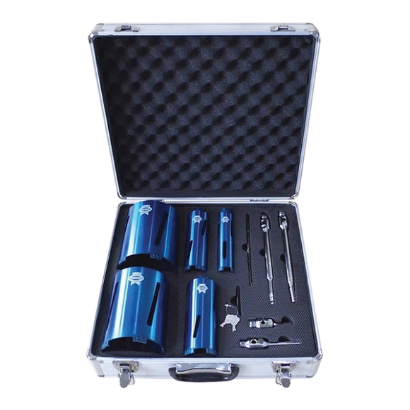 Faithfull 11Pc Diamond Core Drill Kit + Case by Faithfull from Heat Group Supplies