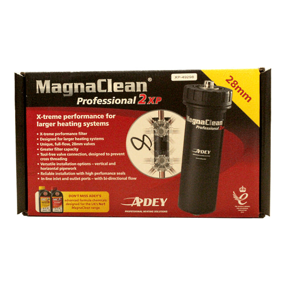 Adey Magnaclean 28mm Professional 2XP System Filter Black by Adey from Heat Group Supplies
