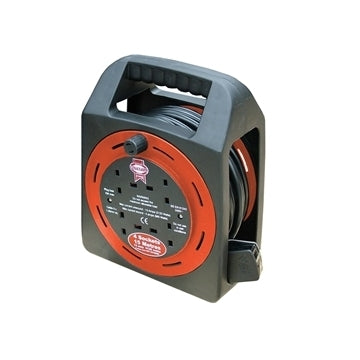 Faithfull Easy Cable Reel 230V 15Mtr 13A by Faithfull from Heat Group Supplies