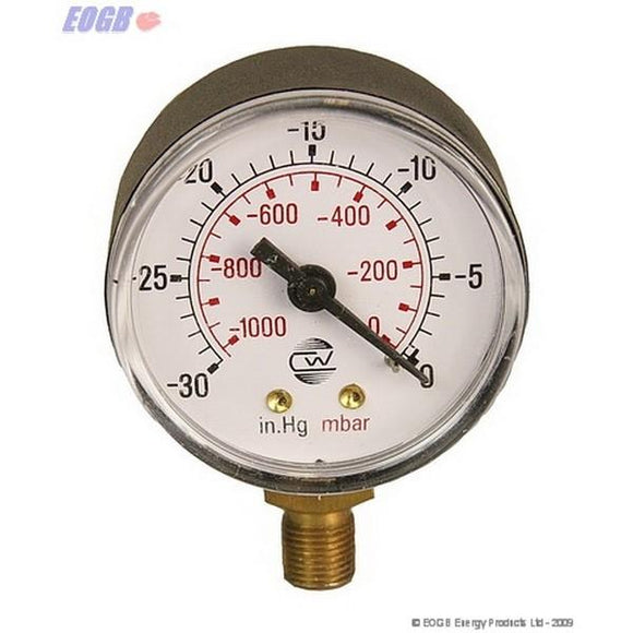 Vacuum Gauge 0-1Bar Eogb Oil Spares