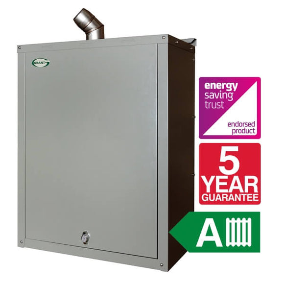 Grant Vortex Eco Wall Hung 16-21 Ext System 55-70 Boiler Only VTXOMWH1621 by Grant from Heat Group Supplies