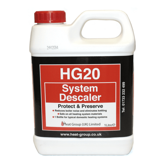Heat Group HG20 System Descaler - 1Ltr by Heat Group from Heat Group Supplies