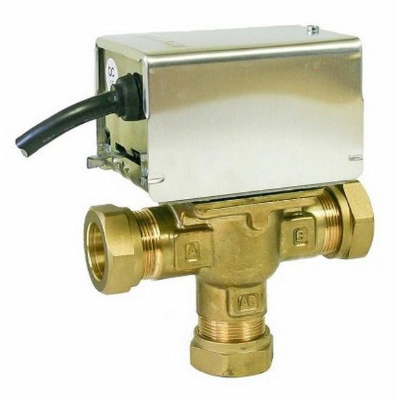 Heat Group 28Mm 3Port Mid-Position Valve Branded Controls
