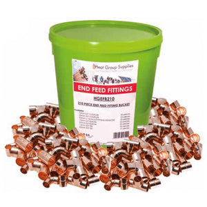 Heat Group 210Pce End-Feed Fittings Bucket by Heat Group from Heat Group Supplies
