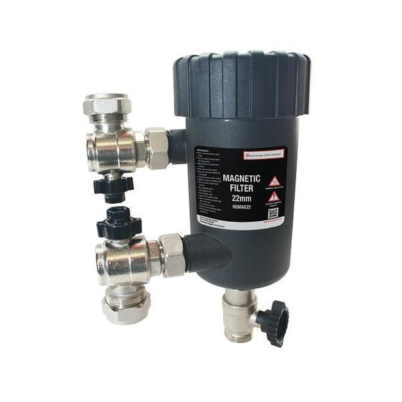 Heat Group 22Mm Magnetic System Filter Branded Controls