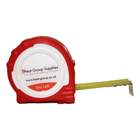 Heat Group 5Mtr / 16Ft Trade Tape Measure by Heat Group from Heat Group Supplies