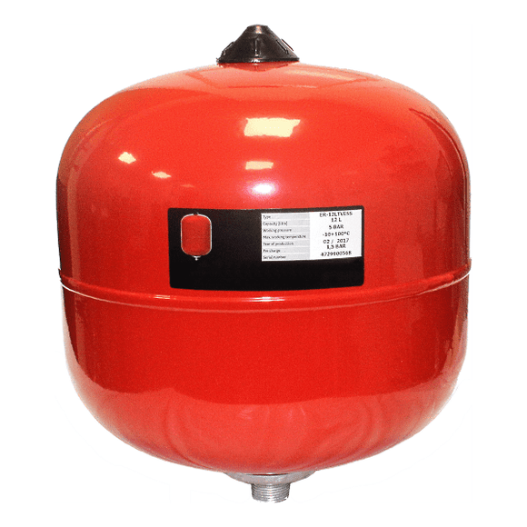 Heat Group Expansion Vessel 18Ltr - Heating Branded Controls