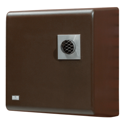 HRM X-Ternal 12-14Kw System Wall Mounted Brown Case (C/W Bal. Flue) by HRM from Heat Group Supplies