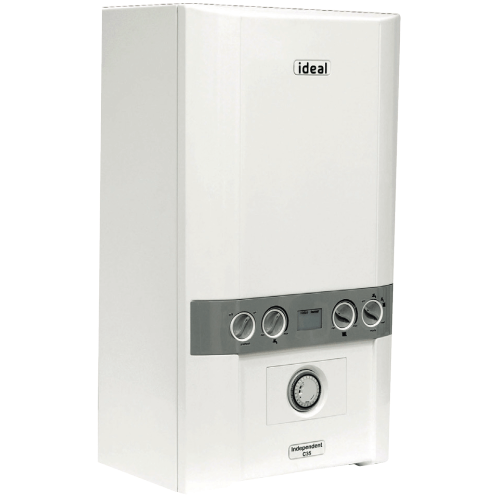 Ideal New Independent C35 35Kw Combi Boiler & Clock by Ideal from Heat Group Supplies